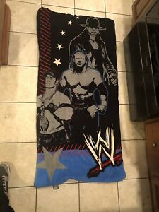 Classic 2008 WWE Wrestling John Cena Undertaker Triple H Sleeping Bag