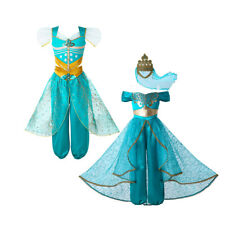 Princess Costume Girls Outfit Cosplay Halloween Party Dress