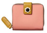 Orla Kiely Applique Flower Square Zip Wallet, Pink