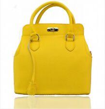 Ladies Fashion Designer REAL LEATHER Handbags Women's Shoulder Bags Tote 28