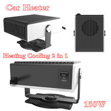 150W Heating Cooling 2 in 1 Car Heater Fan Windshield Fast Defroster Demister