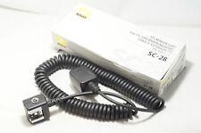 """Nikon TTL Remote Cord SC-28 """"Great"""""""