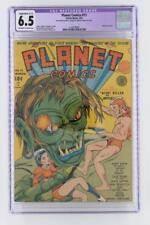Planet Comics #11 - CGC 6.5 FN+ Fiction House 1941 - Last Don Granval - Sci-Fi!