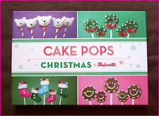 CHRISTMAS CAKE POPS - Recipe Book by Bakerella - Gorgeous Colour Hardcover - NEW