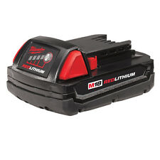 NEW MILWAUKEE 48-11-1815 CORDLESS TOOL BATTERY 18V VOLT RED LITHIUM ION M18 NEW