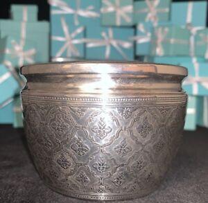 Tiffany&Co Sterling Silver Desk Box or Dresser Box Great Shape and Design!