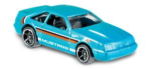 152 - 2019 Hot Wheels Speed Blur - 1992 Ford Mustang Die-Cast Car Calypso Green