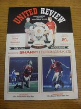 02/04/1991 Manchester United v Wimbledon  . Thanks for viewing our item, if this