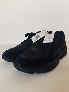 NEW SIZE 13 adidas ORIGINALS YUNG-96 CHASM SHOES MENS EE7239 ALL BLACK DAD SUEDE