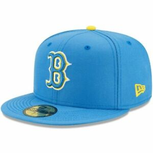 Boston Red Sox City Connect Cap Hat 5950 Fitted Boston Marathon Special Edition