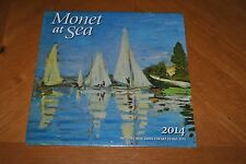 MONET AT SEA 2014 CALENDAR - GREAT FOR FRAMING PICTURES