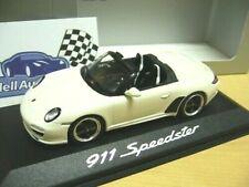 PORSCHE 911 Speedster 997 2010 white weiss Minichamps Dealer SP 1:43