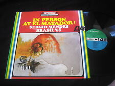 SERGIO MENDES/IN PERSON AT EL MATADOR/LATIN JAZZ BEAT/USA PRESS