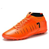 Messi Outdoor Soccer Shoes Men Size Black Binbinniao CR Soccer Boots Indoor TF Turf Cleats Boys High Tops Ankle Boots Women Turf