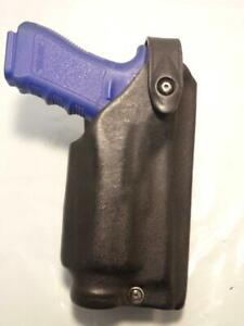 6280-8321 SAFARILAND Level II PD SLS Gun Holster for GLOCK 17 22 31 M3 M6 Light