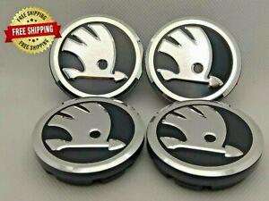 4x56mm Wheel Center Caps Skoda 5JA601151A