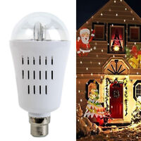 LED Laser Projector Lamp Landscape Star Light Xmas Halloween Outdoor Lights Xmas