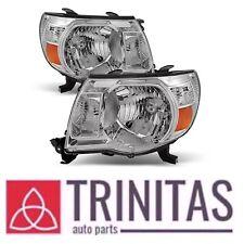 For 05 06 07 08 09 10 11 Set Tacoma Headlights Headlamps Head Lights Lamps 05-11