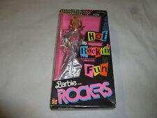 NEW IN BOX 1986 BARBIE AND THE ROCKERS HOT ROCKIN KEN MATTEL 3131 VINTAGE NIB >>