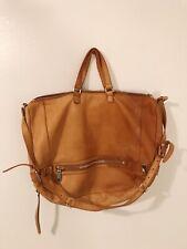 BOTKIER Tan Brown Leather Large Satchel Purse Bag Women's
