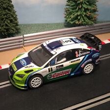 Scalextric coche 1:32 - C2802 2006 #3 Ford Focus 4WD WRC Gronholm * Luces * #X