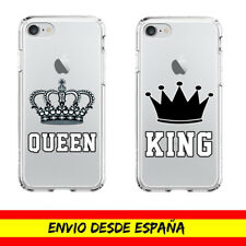 Funda Movil Case Apple Iphone Queen King Corona Cover Dibujo Carcasa
