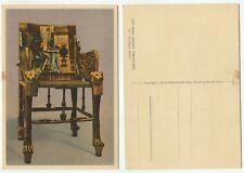 02344 - Tut-ench-Amun - vergoldeter Thronstuhl - alte Ansichtskarte