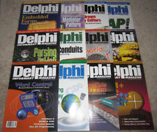 Lot of 12 Vintage DELPHI INFORMANT Magazines 2000 Vol. 6 COMPLETE/Full Year RARE