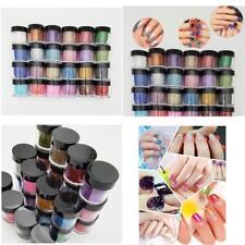 Nail Art Glitter Powder Chrome Decoration Rainbow Holographic Effect 24 Color