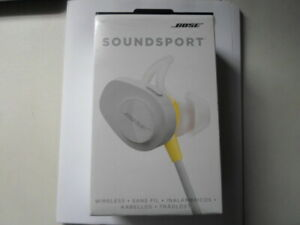 Bose SoundSport In Ear Headphone - Citron  OPEN BOX