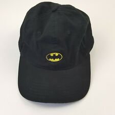 DC Comics Batman Classic Logo Black Yellow Cap/Hat Batman Logo