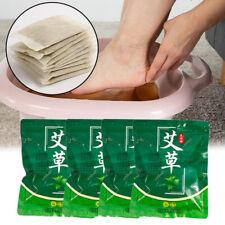 30pcs Mugwort Angelica Foot Bath Bag Moxa Powder Herbal Moxibustion Leaves艾草艾叶泡脚