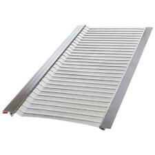 Gutter Guard 4 ft. x 5 in. Stainless Steel Micro-Mesh Rainwater Filter 10-Pack