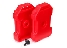 TRAXXAS 8022 Taniche Benzina Rosse TRX-4 DEFENDER/FUEL CANISTERS RED