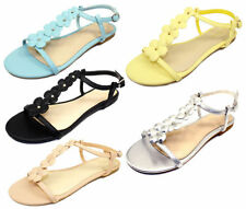 a82f42814489 Bamboo Women s Buckle Sandals and Flip Flops for sale