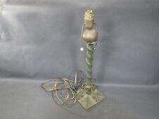 Ancienne pied de lampe de bureau ou salon en fer forgé interrupteur tirette