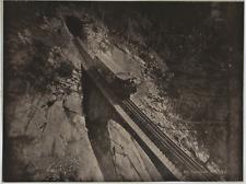 Suisse, Pilatusbahn Vintage print. Photomécanique  21x27  Circa 1890