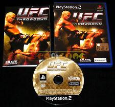 UFC THROWDOWN Ps2 Versione Ufficiale Italiana 1ª Edizione ••••• COMPLETO
