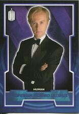 Doctor Who 2015 Blue Parallel [199] Base Card #149 Professor Richard Lazarus