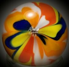 """Rick Davis~THE BUTTERFLY ~Glass Marble 2011~SIGNED~42MM/1 & 1/2"""""""