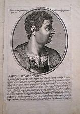 Portrait de Marc Othon, Empereur Romain