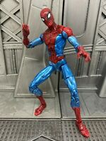 "Marvel Legends Spider-man Classics Origins Shiny Spidey Metalic 6"" Action Figure"