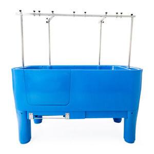 Burtons Easy Groom  Dog Grooming Tub - Blue