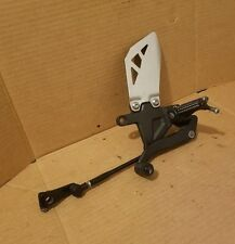 11-15 Kawasaki ZX10R Left Rearset Side with Quick Shifter