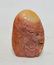 Nice  Hand  Carved  Chinese  Shou-Shan  Stone  Seal    3