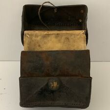 VERY OLD BOOK / MANUSCRIPT CARRYING CASE
