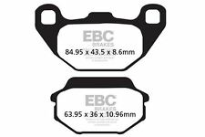 FIT KYMCO People S 125 (BA25BA) (5 bolt disc f 05>06 EBC FRONT CARBON BRAKE PADS
