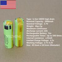 Panasonic NCR18650PF 10A High Drain Li-ion 2900mAh Battery pack with Tabs