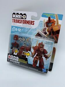 Transformers Sideswipe 26 piece  KRE-O  Hasbro Building Collection 1 New