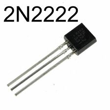 25x 2N2222A NPN BJT 75V 0.8A TO-92 Small Signal MPS2222A